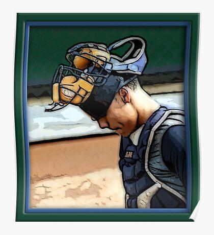 Pre-game Baseball Images #1 Poster