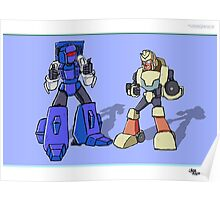 Transformers Pipes and Hubcap Poster