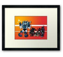 Transformers DJD Framed Print