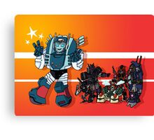 Transformers DJD Canvas Print