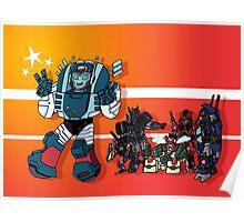 Transformers DJD Poster