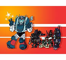 Transformers DJD Photographic Print
