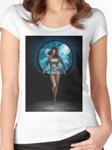 New Moon Women's Fitted Scoop T-Shirt