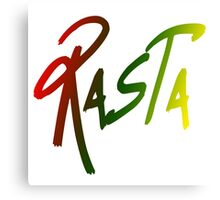 Rasta  Canvas Print