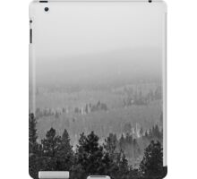 Peak to Peak Highway Snowstorm Study 2  iPad Case/Skin