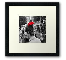 Peter Pan's Red Feather Framed Print
