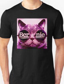 pink Bernie cat Unisex T-Shirt