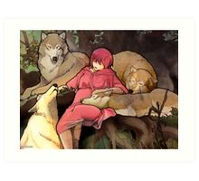 Wolf's Rain  Art Print