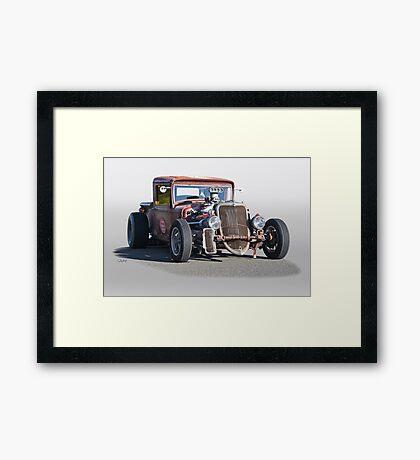 1933 Ford PU Rat Rod Framed Print