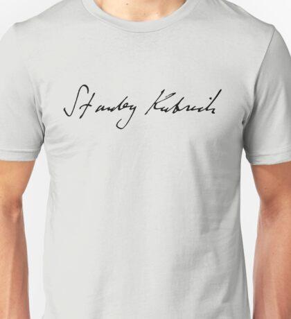 Stanley kubrick signature Unisex T-Shirt