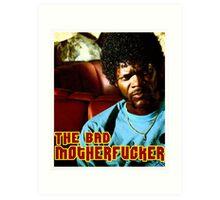 "Pulp Fiction- Jules ""The Bad Motherfucker"" Art Print"