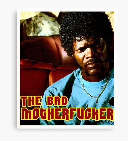 "Pulp Fiction- Jules ""The Bad Motherfucker"" Canvas Print"
