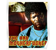 "Pulp Fiction- Jules ""The Bad Motherfucker"" Poster"