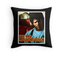 "Pulp Fiction- Jules ""The Bad Motherfucker"" Throw Pillow"