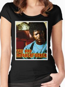 "Pulp Fiction- Jules ""The Bad Motherfucker"" Women's Fitted Scoop T-Shirt"
