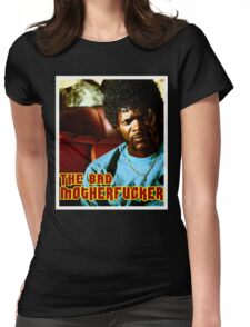 "Pulp Fiction- Jules ""The Bad Motherfucker"" Womens Fitted T-Shirt"