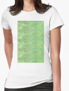 Reptile Skin Womens Fitted T-Shirt