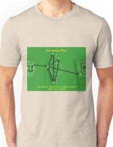 Italian Plan Football Funny Tactics Unisex T-Shirt