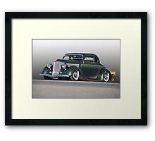 1936 Ford Custom Coupe Framed Print