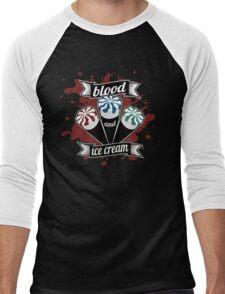Blood & Ice Cream - Colour Men's Baseball ¾ T-Shirt