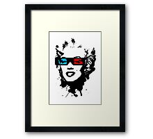 3D Movies Framed Print