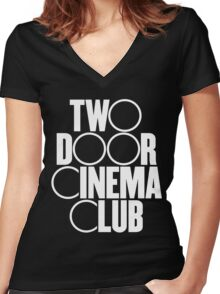 Two Door Cinema Club Women's Fitted V-Neck T-Shirt