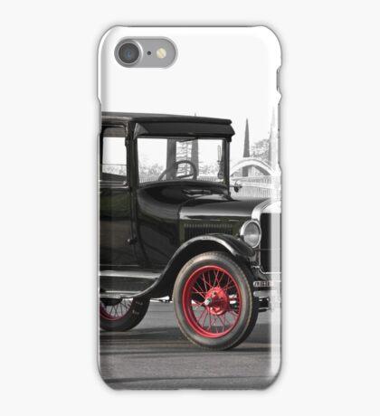 1927 Ford Tudor Sedan iPhone Case/Skin