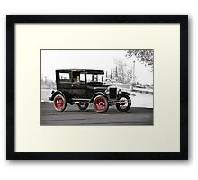 1927 Ford Tudor Sedan Framed Print
