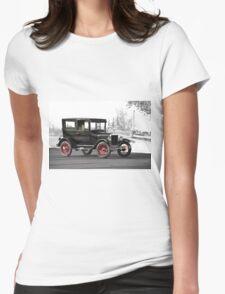 1927 Ford Tudor Sedan Womens Fitted T-Shirt