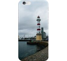 Small light house in Malmö harbour #2 iPhone Case/Skin