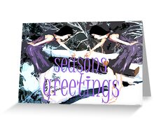 SEASONS GREETINGS 32 Greeting Card