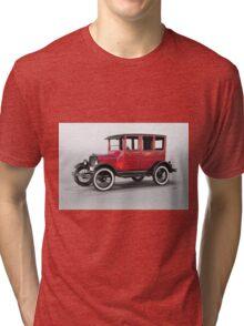 1927 Ford Model T Four Door Sedan  Tri-blend T-Shirt