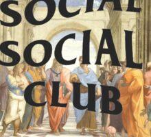 anti social social club x raphael Sticker