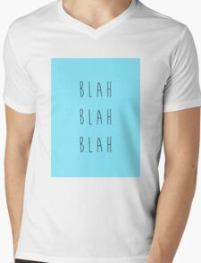 Blah Blah Blah Mens V-Neck T-Shirt