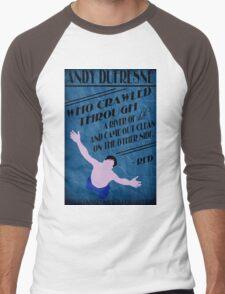 Andy Dufresne - The Shawshank Redemption Men's Baseball ¾ T-Shirt