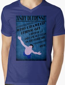 Andy Dufresne - The Shawshank Redemption Mens V-Neck T-Shirt
