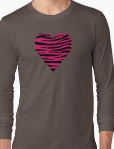 0230 Dogwood Rose Tiger Long Sleeve T-Shirt