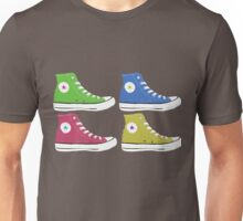 High Tops Sneaker Pop Art Unisex T-Shirt