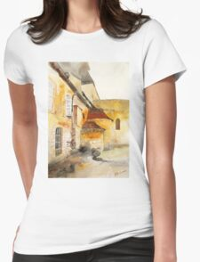 akwarelka 87 Womens Fitted T-Shirt