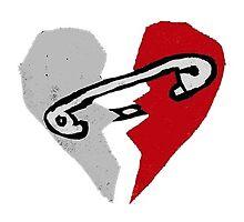 5S0S Safety Pin Logo by johnsmoustache
