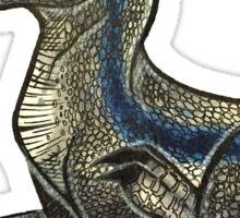 Blue Raptor Sticker