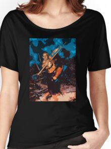 Shaolin Monk #5 (2007) Women's Relaxed Fit T-Shirt