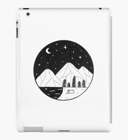 Circle landscape iPad Case/Skin