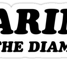 Marina and the Diamonds Logo Sticker