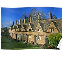 Almshouses, Chipping Norton Poster