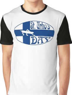 Official St. Urho's Day Seal Graphic T-Shirt