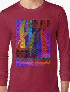 Purple Garden Long Sleeve T-Shirt