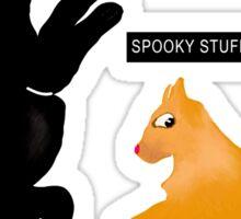 X-files Cats: Spooky stuff isn't real, Mulder Sticker