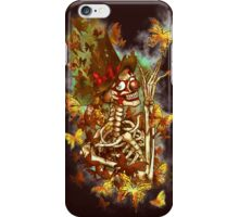 Mr, Happy Skeleton  iPhone Case/Skin