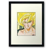Super Saiyan Goku Framed Print